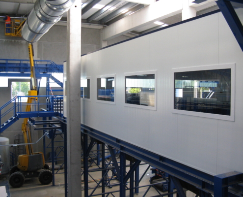 Industriële cabine